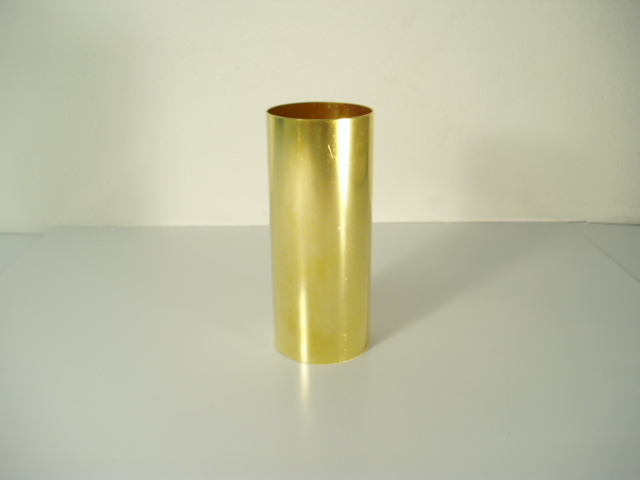 "2.5"" x 6"" Brass Sample Liner"