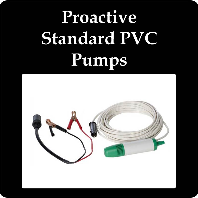 Proactive Standard PVC Pumps