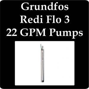 Grundfos Redi Flo 3 22 GPM Pumps