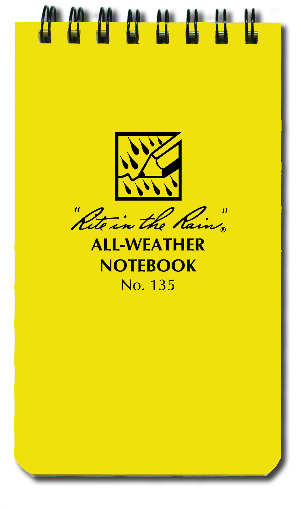 Rite In the Rain Top Spiral Notebook, 3-in. x 5-in. Universal Page