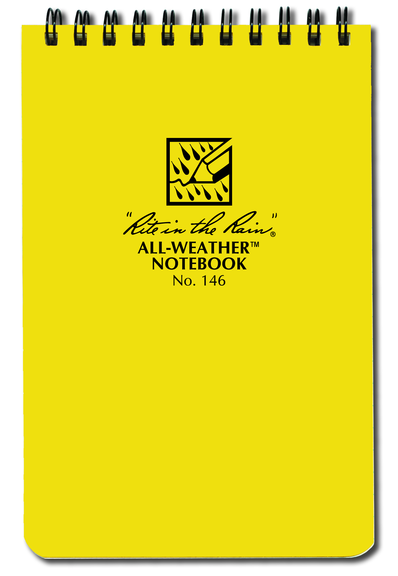 Rite In the Rain Top Spiral Notebook, 4-in. x 6-in., Universal Page